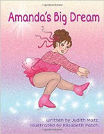 book cover for amanda's big dream