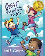 book cover for great things to be