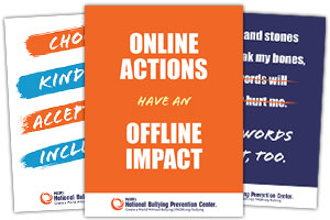 National Bullying Prevention month Poster Series
