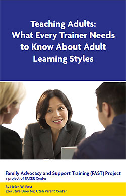 Teaching Adults handout